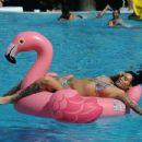 Jemma Lucy in Bikini in Portugal - 454 x 348