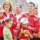 Enrique Peña Nieto and Monica Pretelini