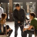 BTS: (L-R) Ken Seng, Sharni Vinson, Jon Chu, Rick Malambri. Ph: K.C. Bailey ©2010 Summit Entertainment, LLC. All rights reserved. - 454 x 303