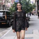 Janina Gavankar – Arrives at AOL Build Series in New York - 454 x 681