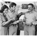 Jamie Lee Curtis, Richard Gilliland and John Astin  Taken - 454 x 350