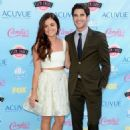 Lucy Hale and Darren Criss at the 2013 Teen Choice Awards (August 11) - 454 x 646