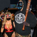 Nicole Coco Austin – Heidi Klum's 19th Annual Halloween Party in NYC - 454 x 681