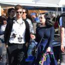 Dita von Teese and boyfriend Adam Rajcevich – Shopping in Los Angeles - 454 x 523