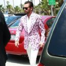 Scott Disick is spotted enjoying a day at the Del Mar Racetrack in Del Mar, California on July 27, 2016
