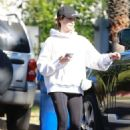 Ashley Tisdale in Tights Out in Los Angeles