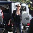 Heidi Klum Out and About In La