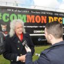 Brian May Launches 'Common Decency Campaign' on March 24, 2015 in London, England