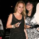 Haylie Duff: leaving the Bootsy Bellows nightclub in West Hollywood