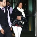 Michelle Rodriguez Leaves the Crosby Hotel in New York City - 454 x 680