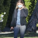 Sofia Richie -In leggings out for a walk in Beverly Hills