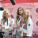 Simone Holtznagel Danielle Knudson and Natalie Pack Gumball 3000 Rally In Amsterdam