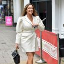 Kelly Brook – Arriving at the Global studios in London