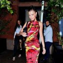 Bella Hadid – Celebrates her 23rd birthday with friends in New York