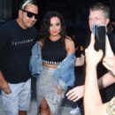 Demi Lovato – Leaving her hotel in New York City