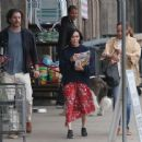 Shannen Doherty – Shopping at vintage market in Malibu - 454 x 365