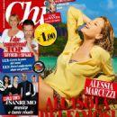 Alessia Marcuzzi for Chi Magazine - 454 x 597
