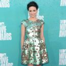 Crystal Reed: The MTV Movie Awards 2012 at Gibson Amphitheatre in Universal City