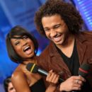 Corbin Bleu and Monique Coleman - 394 x 594