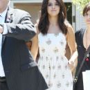 Selena Gomez Out Shopping in Brentwood Ca August 10, 2014