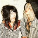 Johnny Thunders and Sabel Starr