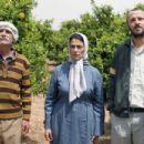 Tarik Kopty as 'Abu Hassam', Hiam Abbass as 'Salma Zidane' & Ali Suliman as 'Ziad Daud' in LEMON TREE, directed by Eran Riklis. Photo credit: Eitan Riklis. An IFC Films release