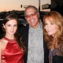 Actress Lea Thompson, husband director Howard Deutch and their daughter Zoey - 454 x 320