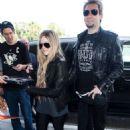 Avril and Chad at Los Angeles Airport (May 15, 2013)
