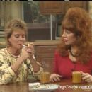 Amanda Bearse as Marcy in Married With Children With Peg Bundy