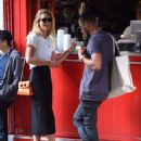 Doutzen Kroes and husband Sunnery James – out in SoHo - 454 x 588