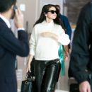 Selena Gomez spotted arriving at Charles de Gaulle Airport in Paris Tuesday September 29,