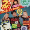 New Kids on the Block - 7 Extra Magazine Cover [Belgium] (1 April 1992)