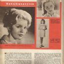 Tuesday Weld - Elokuva-Aitta Magazine Pictorial [Finland] (16 January 1962) - 454 x 608