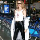 Behati Prinsloo – Out and about in New York