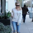 Charlotte McKinney was spotted as she grabbed coffee in West Hollywood, California on January 24, 2017 - 414 x 600