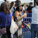 Jenna Dewan-Tatum is seen out with her daughter Everly Tatum at a farmer's market in Studio City, California on March 26, 2017 - 425 x 600