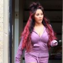 Snooki: filming scenes for her new Jersey Shore