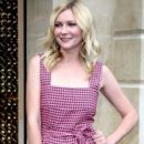 Kirsten Dunst attends the opening of the new Louis Vuitton store on the prestigious Place Vendome during Paris Fashion Week