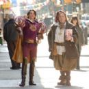 JAMES MARSDEN (left), TIMOTHY SPALL (right) in ENCHANTED ©Disney Enterprises, Inc. All rights reserved. Photo Credit: BARRY WETCHER/SMPSP