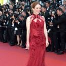 Julianne Moore in  Givenchy  : 'Ismael's Ghosts (Les Fantomes d'Ismael)' and Opening Gala Red Carpet Arrivals - The 70th Annual Cannes Film Festival