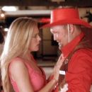 Christina Moore and Larry the Cable Guy