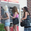 Ashley Greene running errands with her friends in West Hollywood (August 21)
