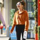 Sarah Hyland – Out with a friend in Studio City