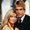 Lisa Hartman and Mark Harmon