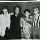 Mick Jagger, Al Sharpton, Melba Moore & David Bowie - 454 x 361