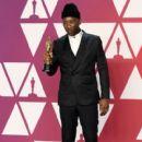 Mahershala Ali At The 91st Annual Academy Awards - Press Room - 400 x 600