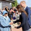 The Duke and Duchess of Cambridge Visit the Isles of Scilly - 454 x 372