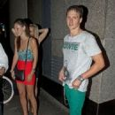Ryan Lochte out at The Rose Club (August 9)