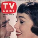 Peter Lawford - TV Guide Magazine Cover [United States] (26 October 1957)
