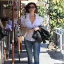 Sofia Milos Grabs Lunch in Beverly Hills - 438 x 600